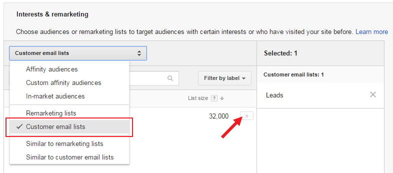 How to Use Customer Match for Google Shopping Remarketing ...